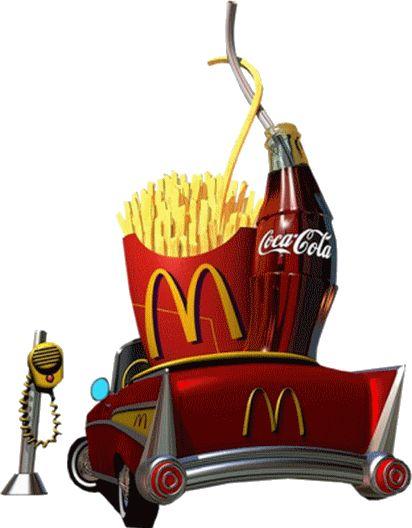 McDonald's clipart junk food Cola images In McDonalds '57