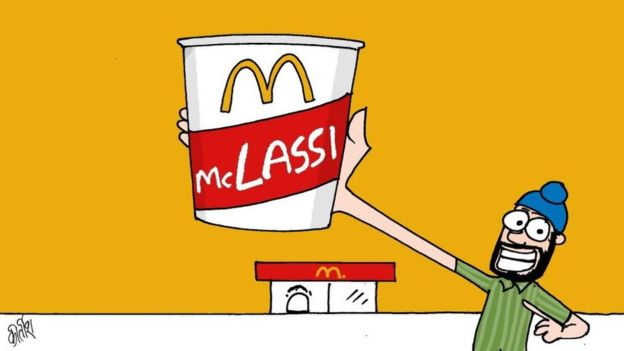 McDonald's clipart junk food BBC Twitter without menu user