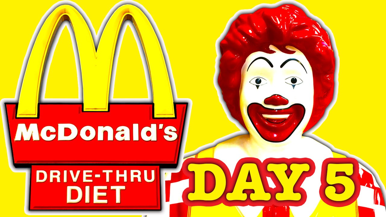 McDonald's clipart unhealthy diet McDonald's Thru Exposed Foods Bad
