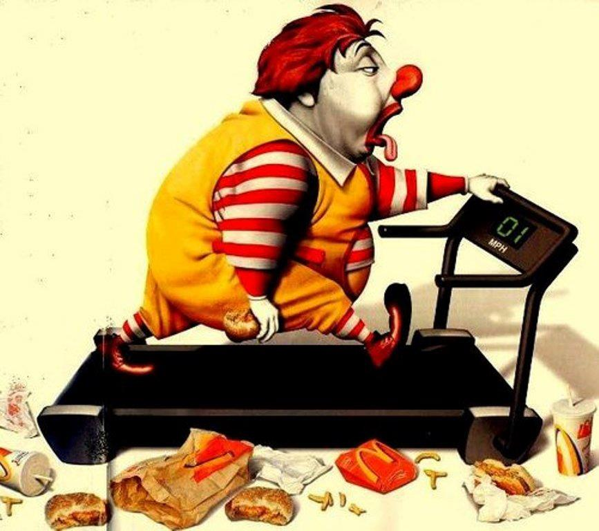 McDonald's clipart unhealthy diet Control Health I portion Jay