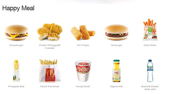 McDonald's clipart unhealthy diet Meals Meal McDonald's cheeseburger main