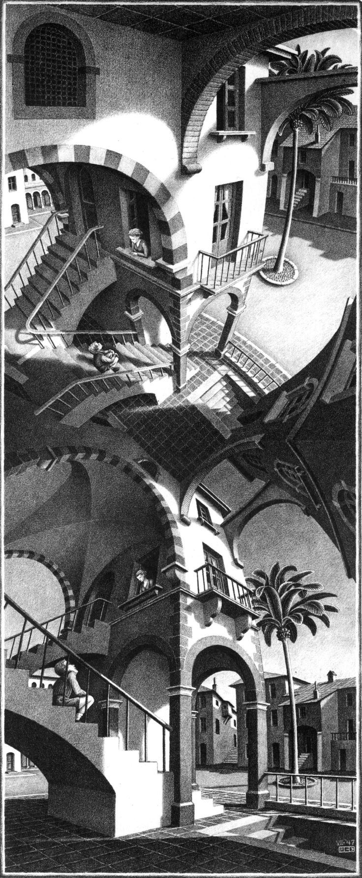 M.c.escher clipart Escher M High C Escher
