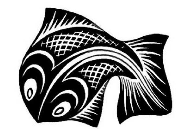 M.c.escher clipart 465 on com Fish #Fish