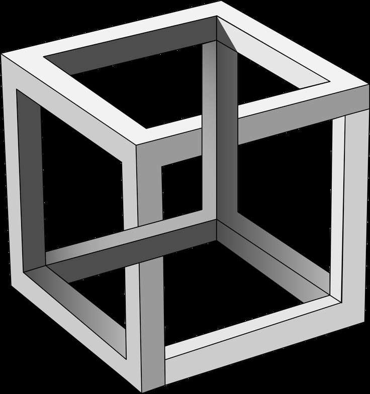 M.c.escher clipart pet Impossible Cube ideas MC Escher