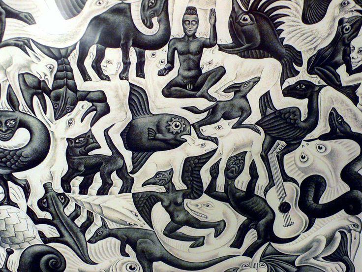 M.c.escher clipart animal Path M C of Life