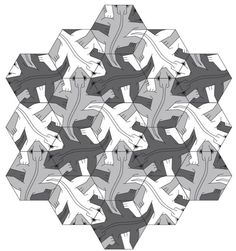 M.c.escher clipart ant And escher mc on Pinterest