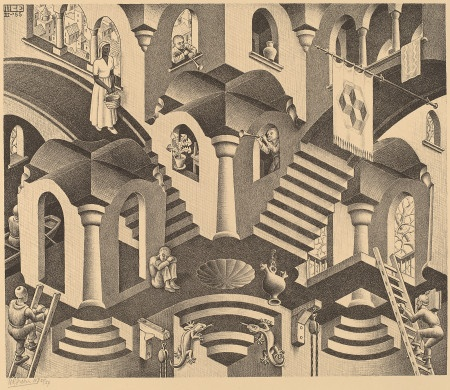M.c.escher clipart ant On / and 1955 179