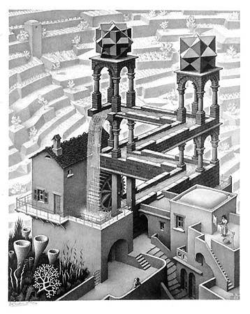 M.c.escher clipart building Best C Escher 43 this