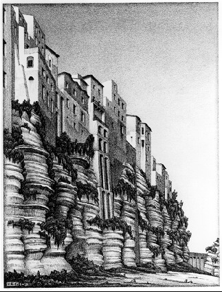 M.c.escher clipart building C M C Escher Calabria