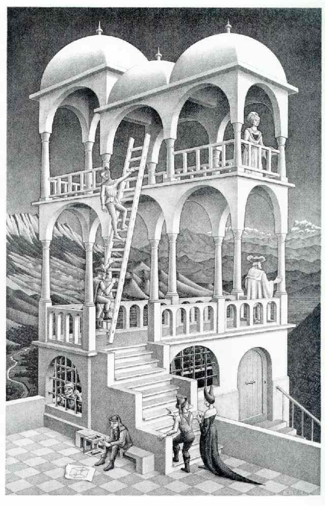 M.c.escher clipart building On dutchess Spinning Pinterest M