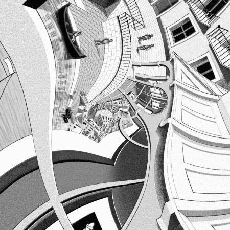 M.c.escher clipart clock M 36 Pinterest C Escher