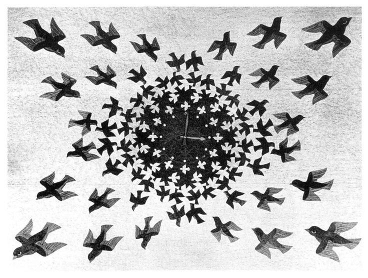 M.c.escher clipart clock Images C about on Media