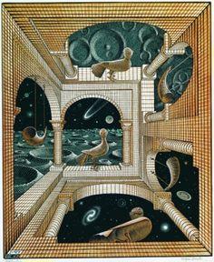 M.c.escher clipart clock Gallery state) 1946 1949 Maurits