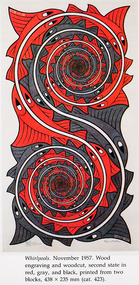 M.c.escher clipart coffee Escher Whirl by Pool M
