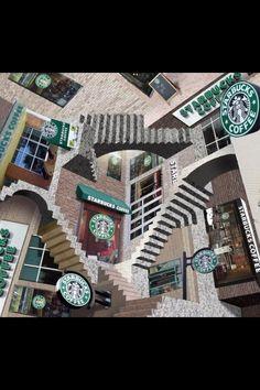 M.c.escher clipart coffee Sometimes It Escher Preliminary