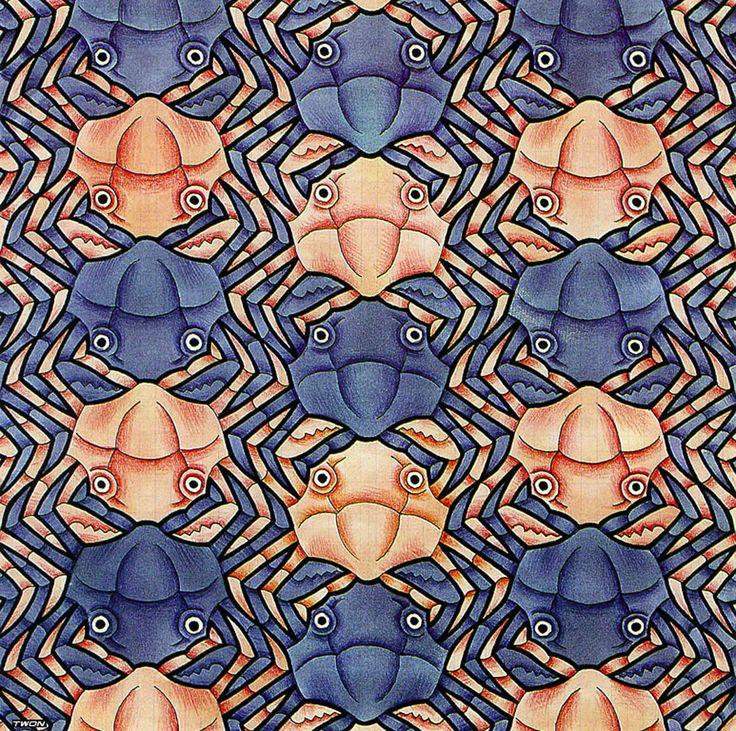 Drawn m.c.escher jessica rabbit Optical Crab about Escher images
