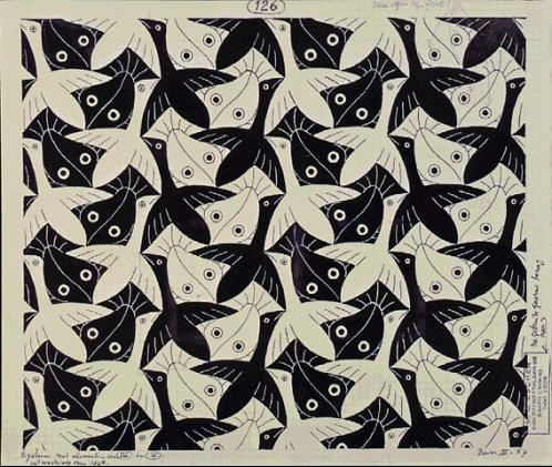 M.c.escher clipart duck By Escher C images Artiste