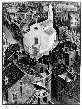 M.c.escher clipart earth 1934 on M M Escher