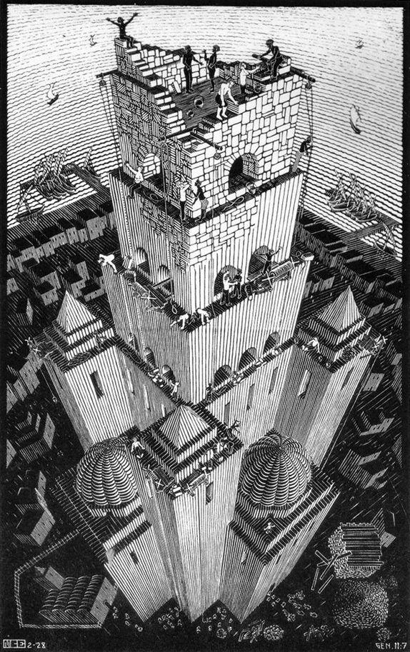M.c.escher clipart earth Escher of 1016 speech 1