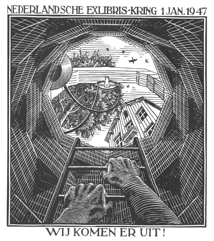 M.c.escher clipart finger 25+ capodanno Best Palazzo (1947)
