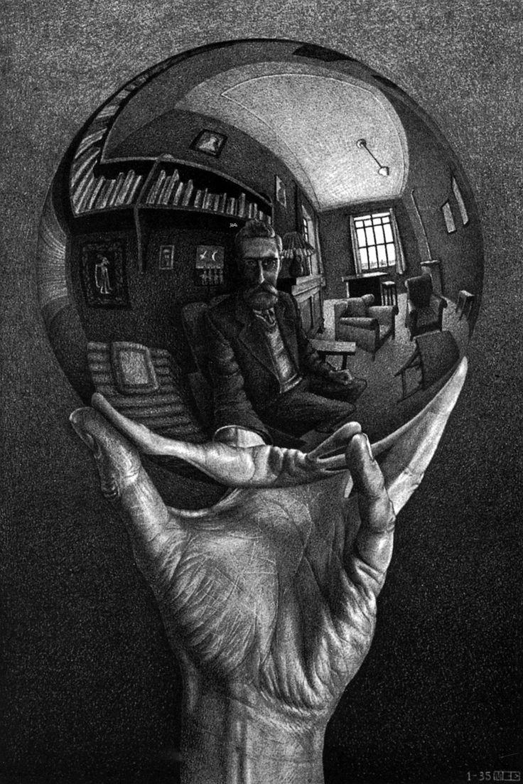 M.c.escher clipart finger Images on best Escher MC