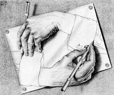 M.c.escher clipart finger Images 133 Escher M by