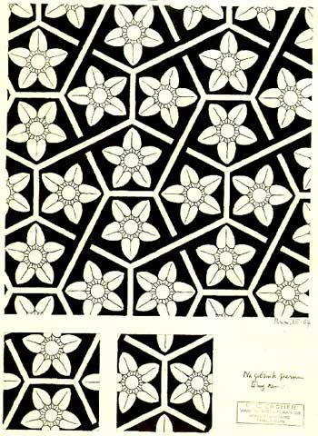 M.c.escher clipart flower Flower best by MC 1967