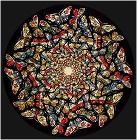 M.c.escher clipart glass 25+ Más Butterfly ideas MC