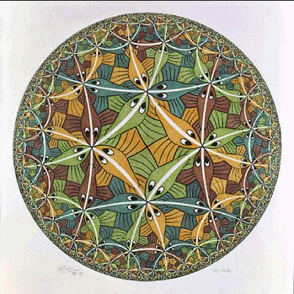 M.c.escher clipart glass 1959 Limit M Artist: Pinterest