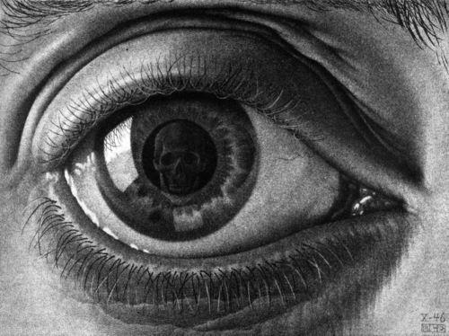 """M.c.escher clipart glass * """"Eye"""" M paintings Best"""