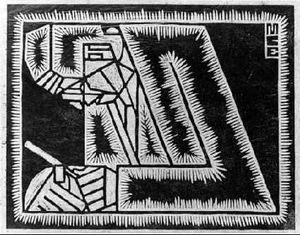 M.c.escher clipart glass Linoleum Glass Escher's gallery wirh