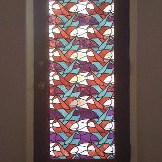 M.c.escher clipart glass Best idea MC Escher stained
