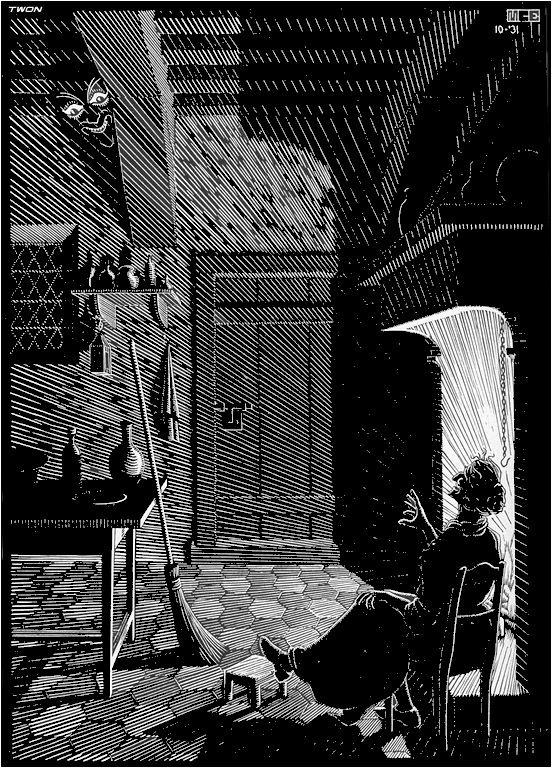 M.c.escher clipart halloween Pinterest 17 on Escher M