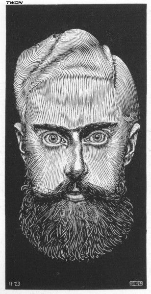 Drawn m.c.escher dinosaur M best C Self Escher