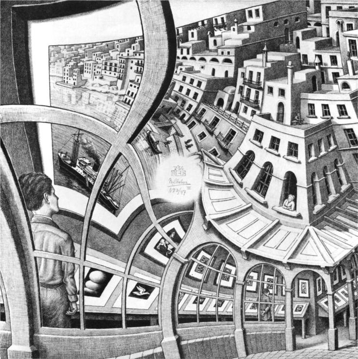 M.c.escher clipart ice cream WikiPaintings Pinterest is 293 about
