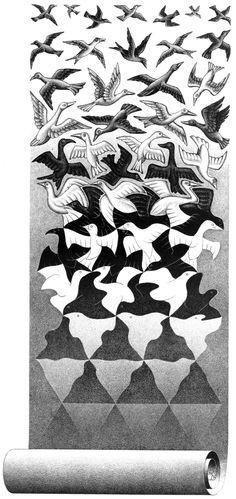 M.c.escher clipart ice cream Liberation WikiPaintings El C y