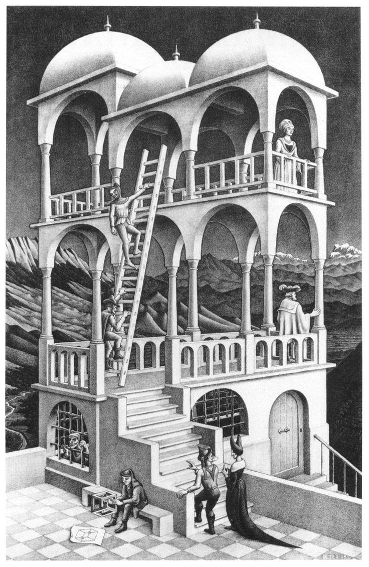 M.c.escher clipart king This Escher Escher on best