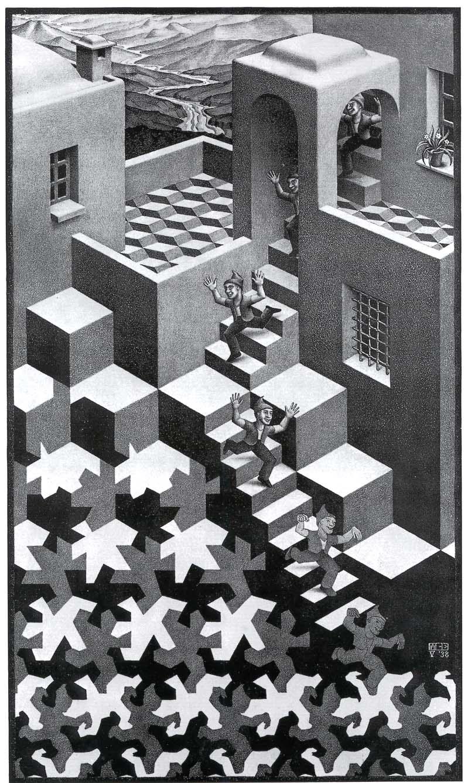 M.c.escher clipart king This Pinterest Cycle Ideas 1938