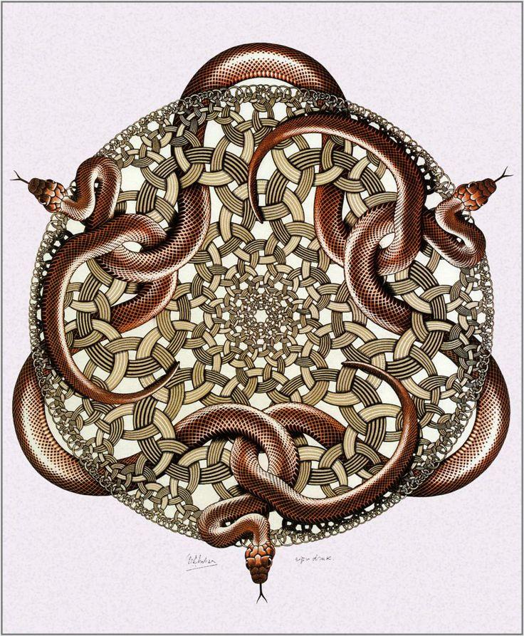 M.c.escher clipart magnifying glass About 489 Pinterest M on