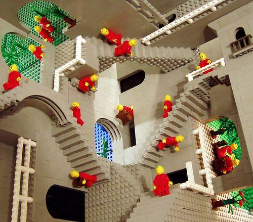 M.c.escher clipart magnifying glass Images Lego) C M Art