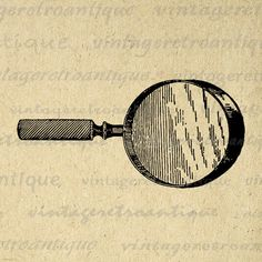 M.c.escher clipart magnifying glass Graphic life Antique Eps
