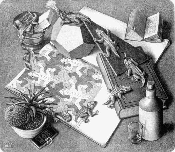 M.c.escher clipart magnifying glass 36 the Escher C images