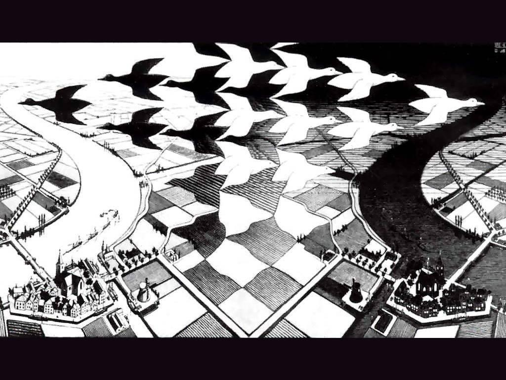 M.c.escher clipart nurse And and Day Escher wallpaper