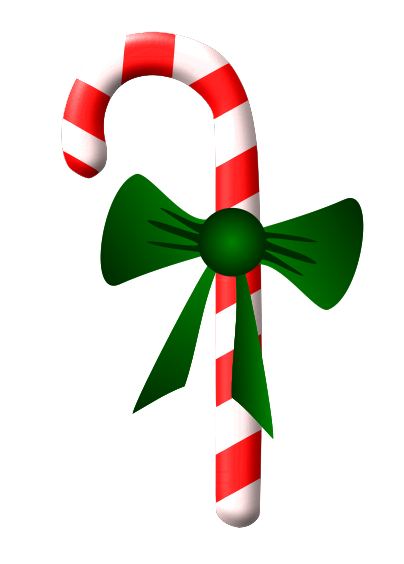 Candy Cane clipart simple Clipart Ribbon Green Images Clipart
