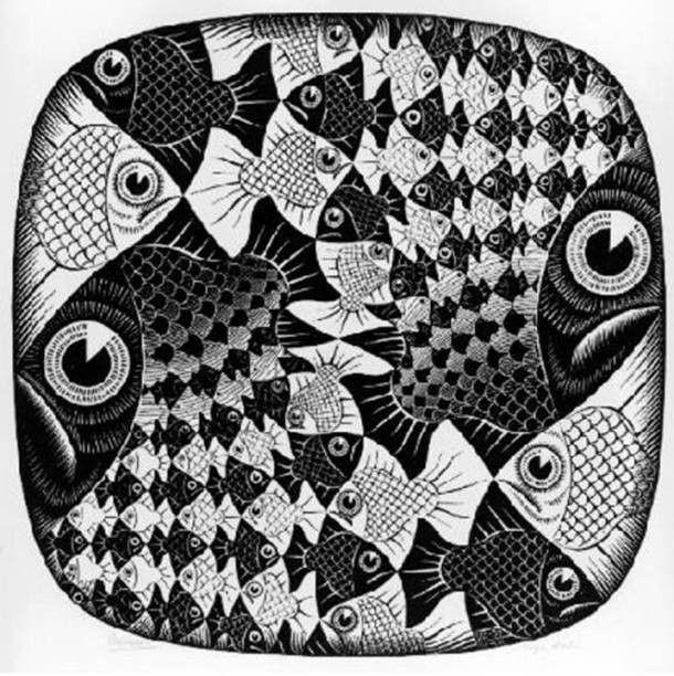 M.c.escher clipart ring 12 best MC about Escher