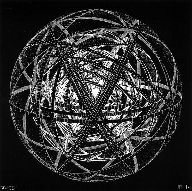 M.c.escher clipart ring Pin on Find and Escher: