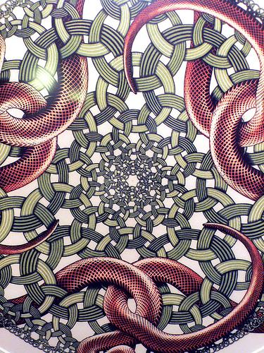 M.c.escher clipart ring Ring Snakes Escher MC M