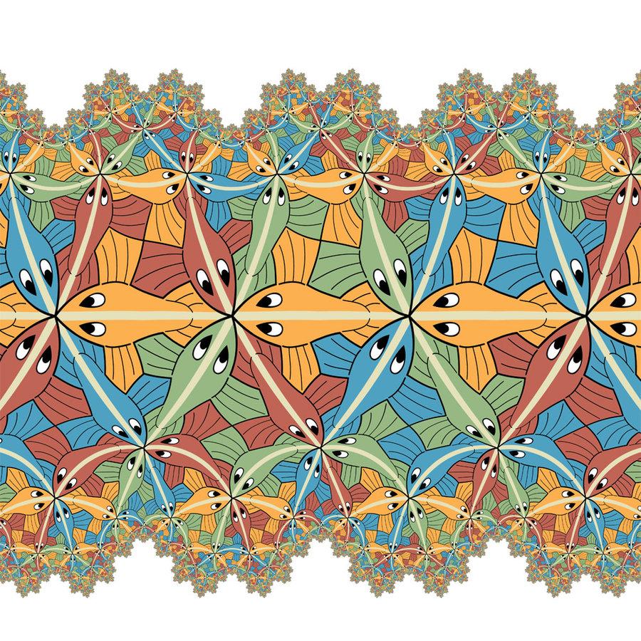 M.c.escher clipart ring C Limit   Escher