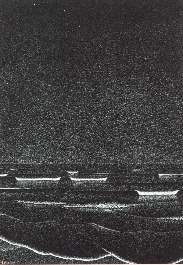 M.c.escher clipart rock MC Sea M on Escher