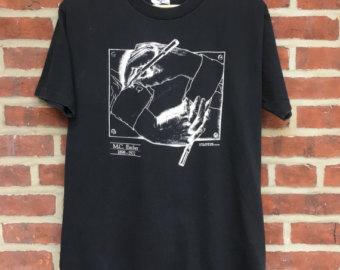 M.c.escher clipart sandwich Escher shirt Mc mc 1990